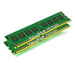 Kingston ValueRAM 8 Go (2x 4 Go) DDR3 1333 MHz ECC Registered CL9