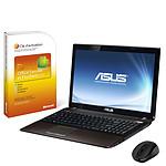 ASUS K53SV-SX513V + Microsoft Office Famille et Etudiant 2010 + Souris sans fil