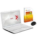 Toshiba Satellite L775-15H Blanc + Microsoft Office Famille et Etudiant 2010 + Souris sans fil