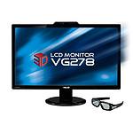 """ASUS 27"""" LCD 3D - VG278H NVIDIA 3D Vision"""