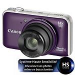 Canon Powershot SX220 HS Violet
