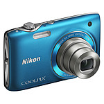 Nikon Coolpix S3100 Bleu