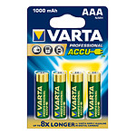 Varta Power AAA 4 piles rechargeables