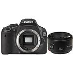 Canon EOS 550D + Objectif EF 50mm f/1.8 II