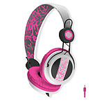 B-Move Casque Soundwave Blanc & Rose