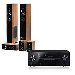 Pioneer VSX-921 Noir + Jamo S 606 HCS 3 Dark Apple