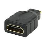 Adaptateur HDMI femelle vers micro-HDMI mâle (plaqué or)