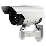 König CCTV Dummy Camera powered by Solar Panel