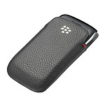 BlackBerry Leather Pocket Noir