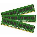 Kingston ValueRAM 6 Go (3 x 2 Go) DDR3 1333 MHz CL9