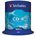 Verbatim CD-R 700 MB 52x (spindle de 100)