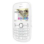 Nokia Asha 201 Blanc