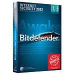 Bitdefender Internet Security 2012 - Licence 1 an 3 postes