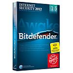 Bitdefender Internet Security 2012 - Mise à jour - Licence 1 an 3 postes