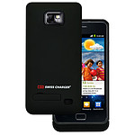 Swiss Charger Coque pour Samsung i9100 Galaxy SII avec batterie 1400 mAh intégrée
