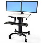 Ergotron WorkFit-C Dual-LCD