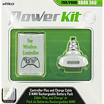 nYko Power Kit Blanc (Xbox 360)