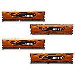 G.Skill Ares Orange Series 16 Go (4 x 4 Go) DDR3 1333 MHz CL9