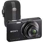 Sony Cyber-shot DSC-W630 Noir + Etui Tamrac Neo Digital + SD 4 Go