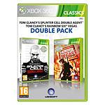 Splinter Cell Double Agent + Rainbow Six Vegas (Xbox 360)