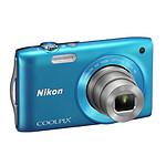 Nikon Coolpix S3300 Bleu