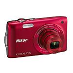 Nikon Coolpix S3300 Rouge