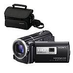 Sony HDR-PJ260V + Etui U10 + Carte SD 8 Go