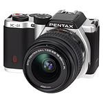 Pentax K-01 Argent + Objectif 18-55 mm