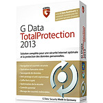 G Data Total Protection 2013 - Licence 1 an 3 postes