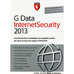 G Data Internet Security 2013 - Licence 1 an 3 postes