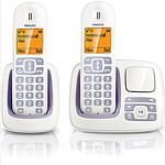 Philips CD2952 Duo Blanc/lila