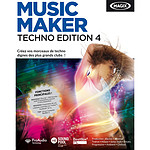 MAGIX Music Maker Techno Edition 4 (français, WINDOWS)