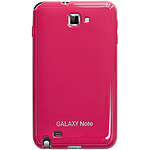 Anymode Made For Samsung Coque Glossy Rose pour Galaxy Note