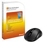 Microsoft Office Famille et Petite Entreprise 2010  + Souris Microsoft Wireless Mobile Mouse 4000  - 1 PC - Carte d'activation