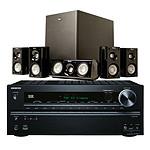 Onkyo TX-NR616 + Klipsch HD Theater 500