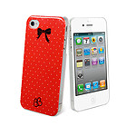 Brigitte Bardot Coque Eternelle B.B. pour iPhone 4/4S Pois Rouges
