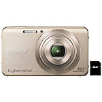 Sony Cyber-shot DSC-W630 Or + Carte SD 4 Go