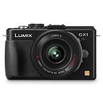 Panasonic Lumix DMC-GX1X Noir + Objectif 14-42 mm