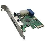 Carte contrôleur PCI-Express 4 ports USB 3.0 (dont deux via un connecteur interne)