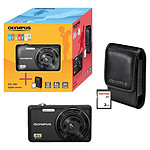 Olympus VG-150 Noir Start-Up Kit + Etui + Carte SD 2 Go