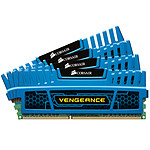 Corsair Vengeance Series 16 Go (4 x 4 Go) DDR3 2133 MHz CL11 Bleu