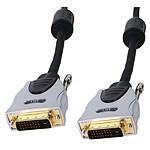 Câble DVI-D Dual Link mâle/mâle haute qualité (5 mètres)