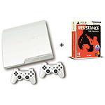 Sony  PlayStation 3 Slim 320 Go Pack Resistance Trilogy + 2 manettes DualShock 3