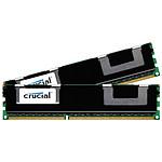 Crucial 8 Go (2 x 4 Go) DDR3 1333 MHz CL9 ECC Registered DR X8
