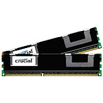 Crucial 8 Go (2 x 4 Go) DDR3 1066 MHz CL7 ECC Registered QR