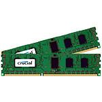 Crucial DDR3 64 Go (2 x 32 Go) 1066 MHz CL7 ECC Registered QR X8