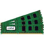 Crucial DDR3 96 Go (3 x 32 Go) 1066 MHz CL7 ECC Registered QR X8