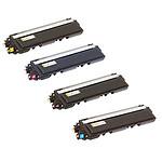 Pelikan pack compatible TN-325 (Noir + Cyan + Magenta + Jaune) + PeliCARE