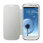Samsung EFC-1G6FW - Etui Flip Cover Blanc pour Galaxy SIII
