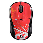 Logitech Wireless Mouse M305 (Red Butterfly)